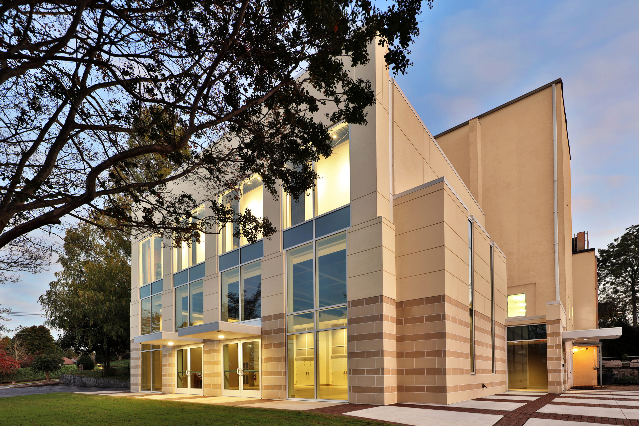 Image of the Tryon Fine Arts Center project.