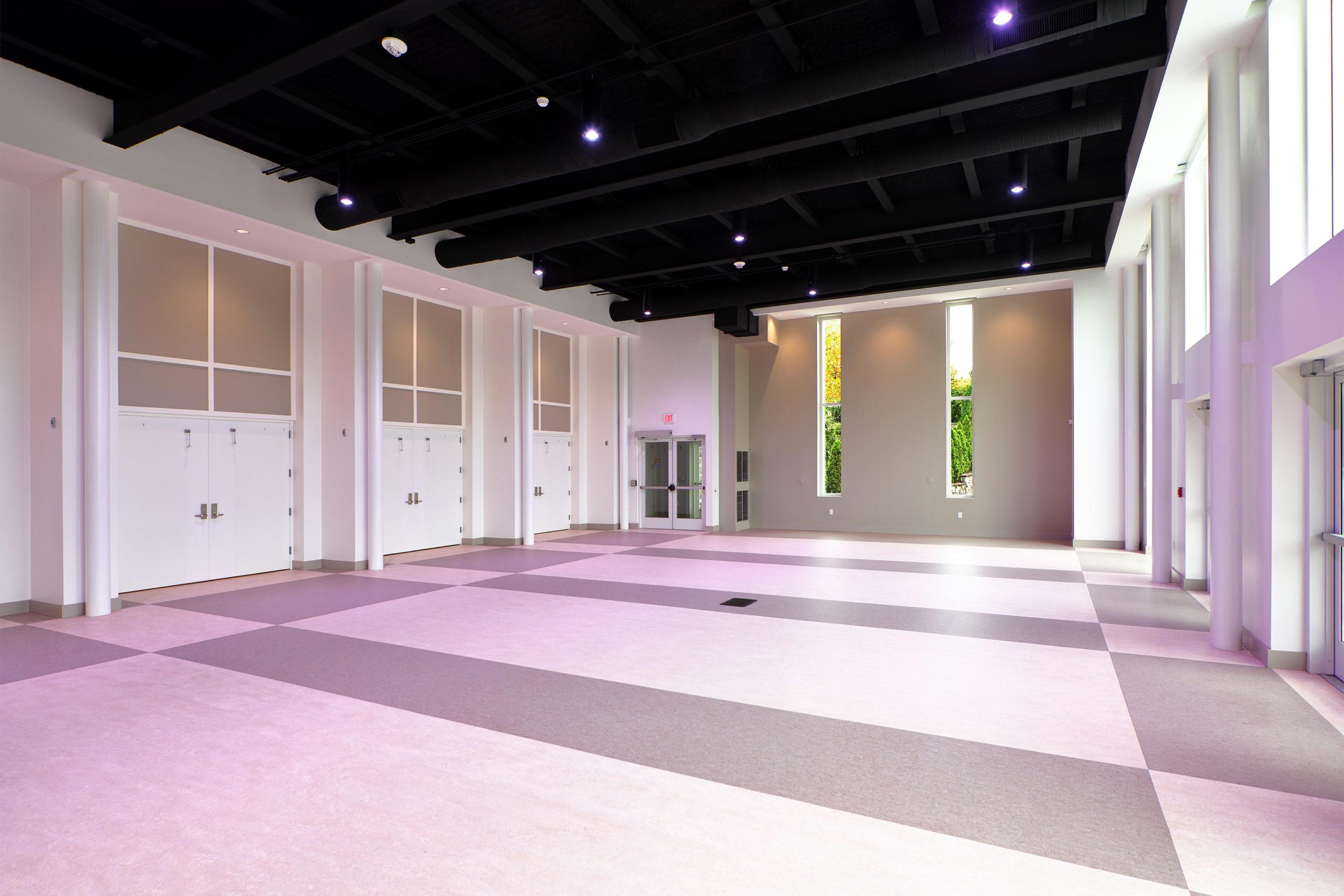 Interior multipurpose space
